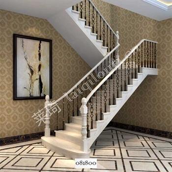 手工锻造铁艺楼梯081800的图片