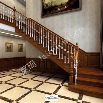 手工锻造铁艺楼梯092201的图片