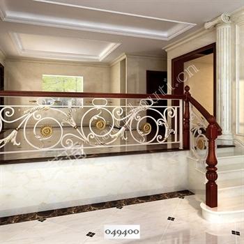 手工锻造铁艺楼梯049400的图片