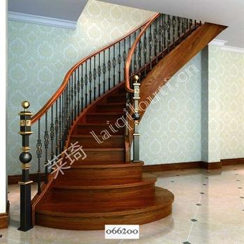 手工锻造铁艺楼梯066200的图片