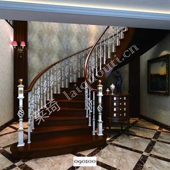 手工锻造铁艺楼梯090100的图片