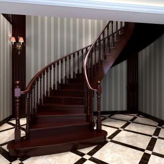 类别实木楼梯和铁木混搭的图片