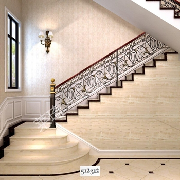 手工锻造铁艺楼梯512312的图片