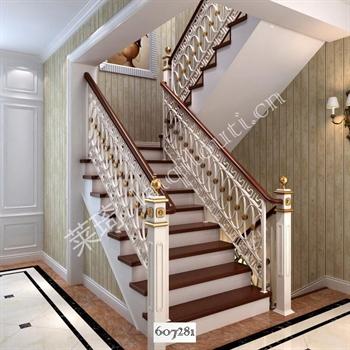手工锻造铁艺楼梯607281的图片