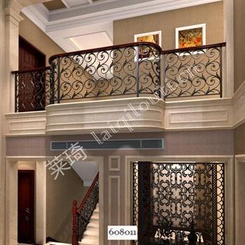 手工锻造铁艺楼梯608011的图片