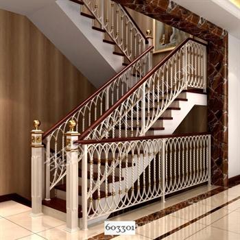 手工锻造铁艺楼梯603301的图片