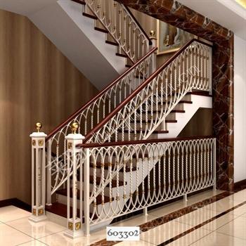 手工锻造铁艺楼梯603302的图片