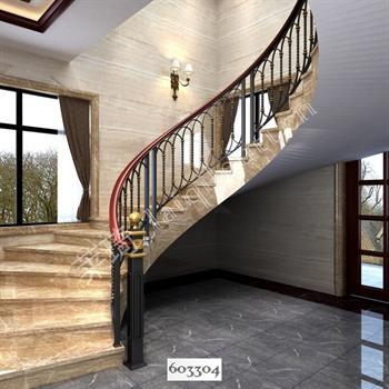 手工锻造铁艺楼梯603304的图片