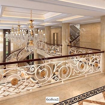 手工锻造铁艺楼梯608012的图片