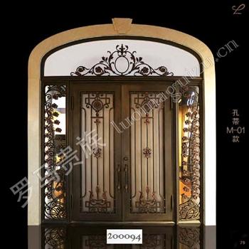 手工锻造别墅入户门200094的图片